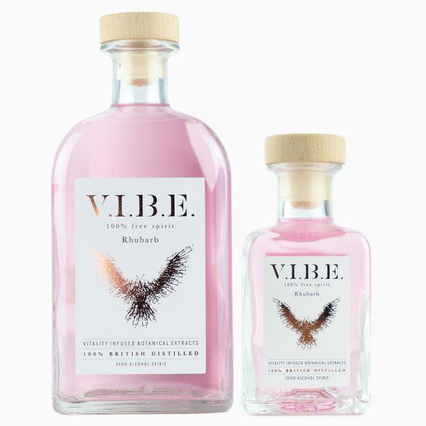 VIBE Rhubarb 700ml and 200ml